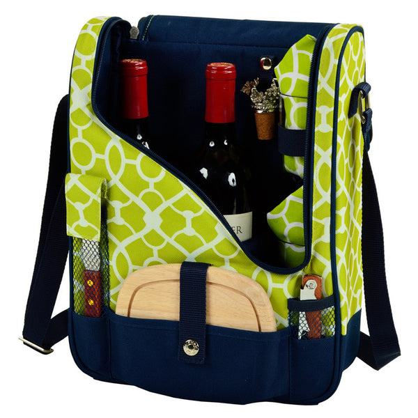 Trellis Green Pinot Wine and Cheese Cooler for 2 - The Picnic Store - 1