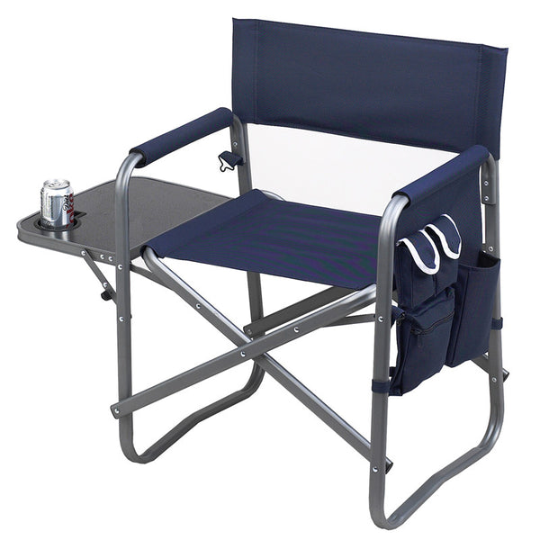 Director's Chair with Side Table - The Picnic Store - 1
