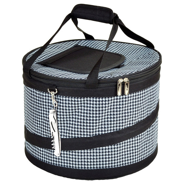 Houndstooth Pop-Up Cooler Tub - The Picnic Store - 1