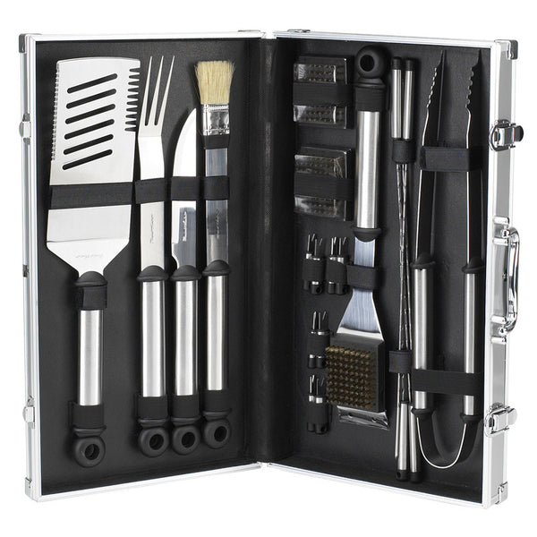 Luxury - 20pc BBQ Tool Set - The Picnic Store - 1