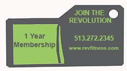 Family One Year Full Gym & Class Membership