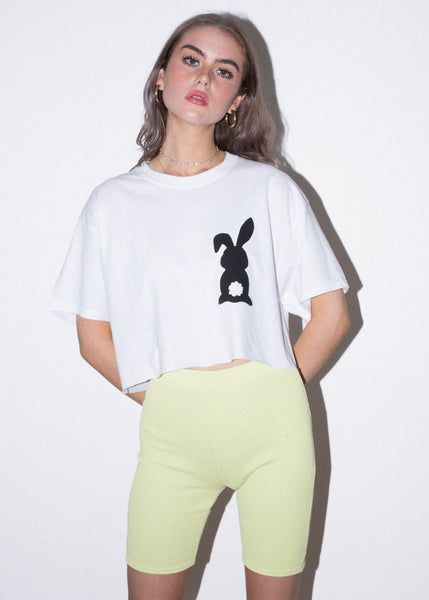 WMNS BUNNY TAIL CROP TEE