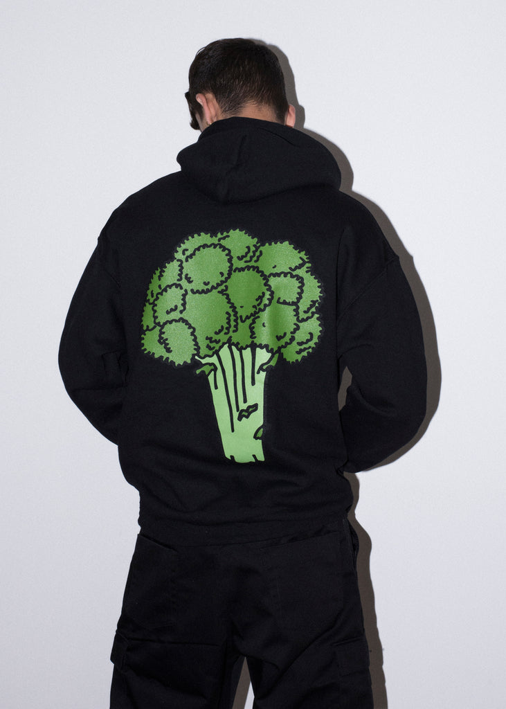BROCCOLI BLACK HOOD