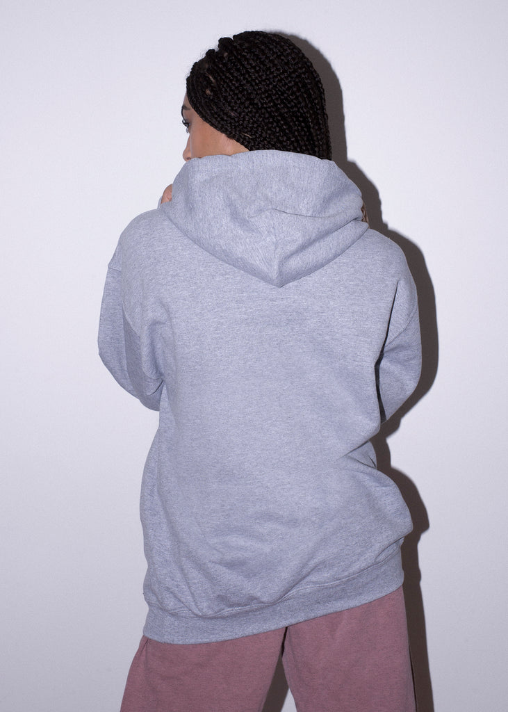 KITTY SKATE GREY HOOD