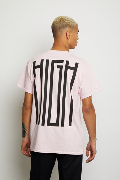 HIGH PINK OVERSIZED TEE