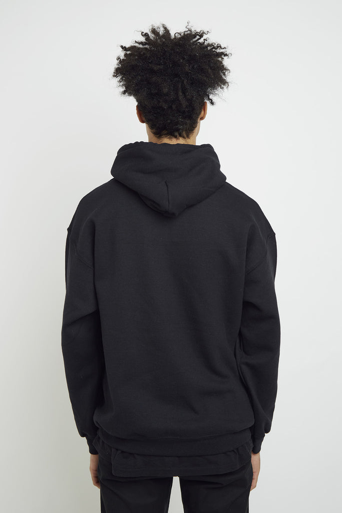 PEACHY BLACK HOOD
