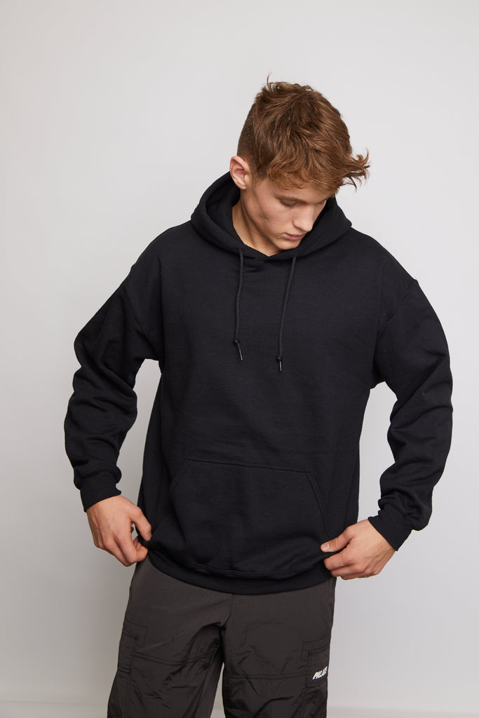 HOT AND SPICY BLACK HOODY