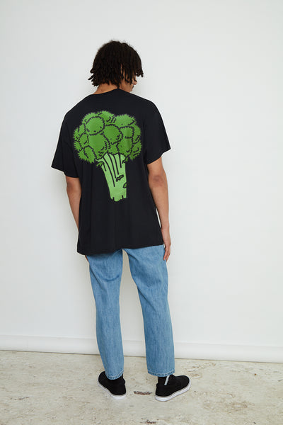 New Love Club Broccoli Back Print Tee