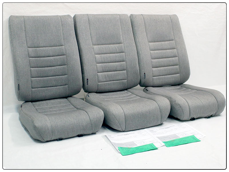 Bell 206L FWD Face 3 Man Seat Cushion