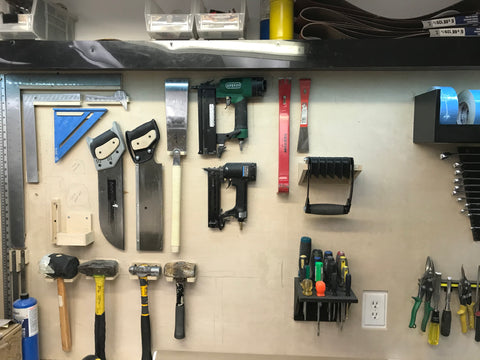 Shadow board tool wall equipment