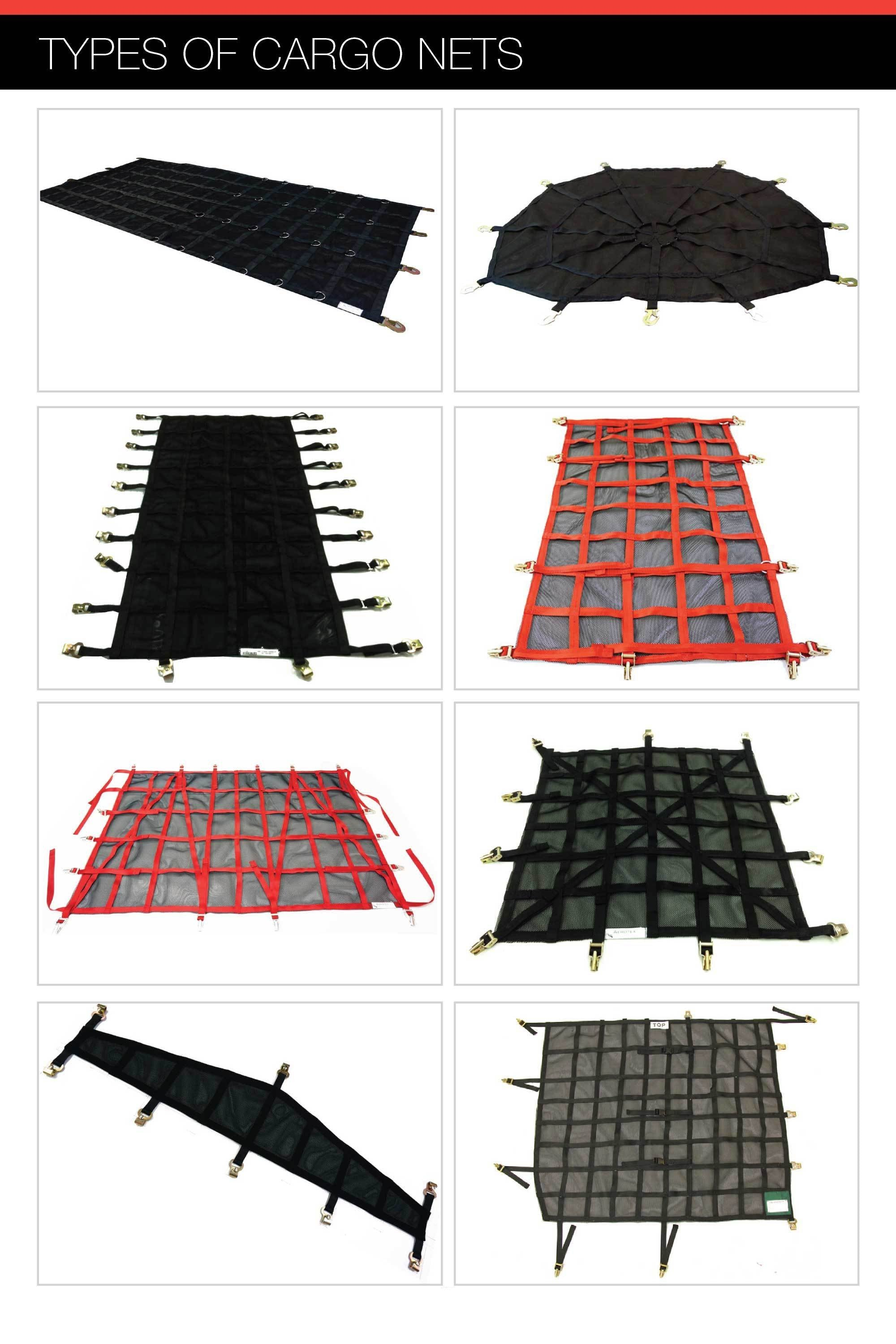 Types of Aircraft Cargo Nets