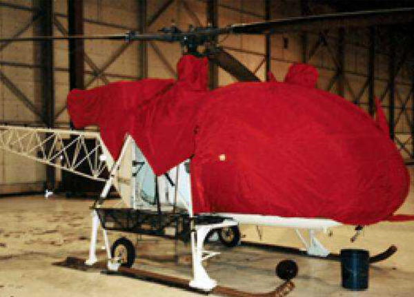 Alouette III  - Engine Cover, INSULATED