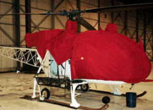 Alouette III - Head (Main Rotor Mast) Cover