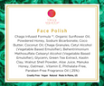 True North, face polish, natural ingredients, True North Beauty, luxury, natural skincare, natural, chaga skincare, chaga,  organic skincare, Chaga Infused Formula, Maine made, Manuka honey, cruelty free, anti-aging, antioxidants