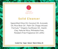 Solid Facial Cleanser & Natural Puff - Be True