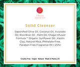 Solid Facial Cleanser & Natural Puff