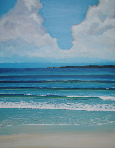 A Break in the Clouds at Porthminster. Limited Edition Print (1/25)