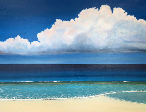 Blue Sky St Ives A3 and A4 Size Open Edition Print