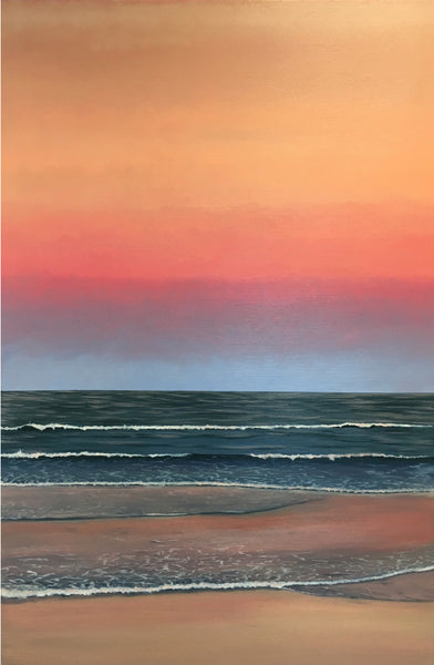 Sunset at Mudjimba. Limited Edition Print (1/25)