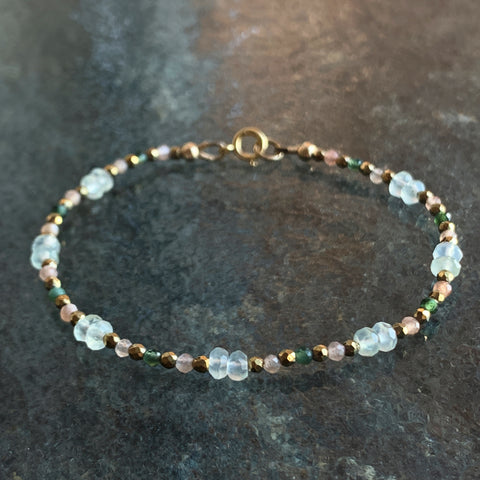 Balance Bloom and Birth Bracelet