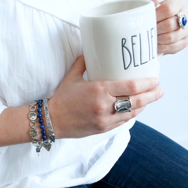 Lovely in Lapis Bracelet
