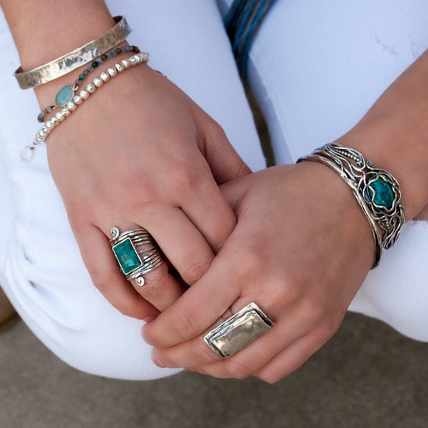 Treasured Turquoise Cuff