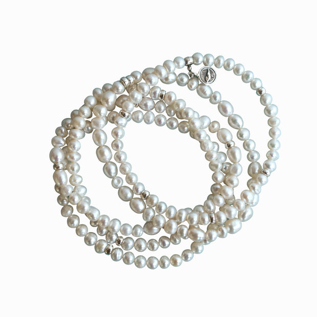 Party of Five Pearl Bracelet