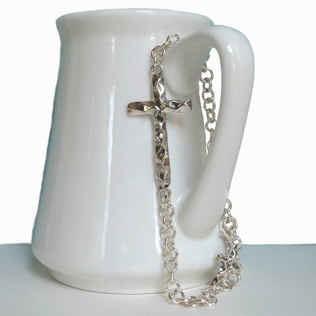 Faithful Cross Bracelet
