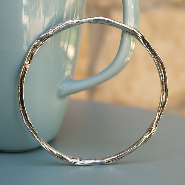 Essential Sterling Bangle Bracelet