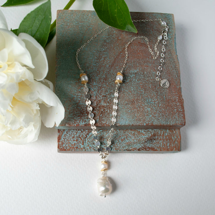 Belle Baroque Pearl Necklace