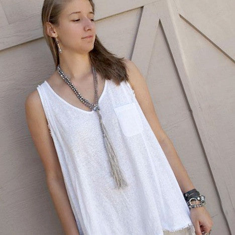 Shadyside Lariat Necklace