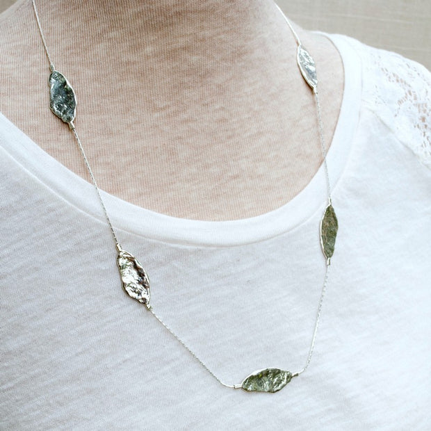Silver Essence Necklace