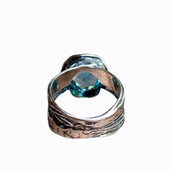 Blue Topaz Express Yourself Ring