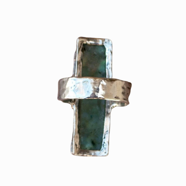 Unearthed Roman Glass Ring