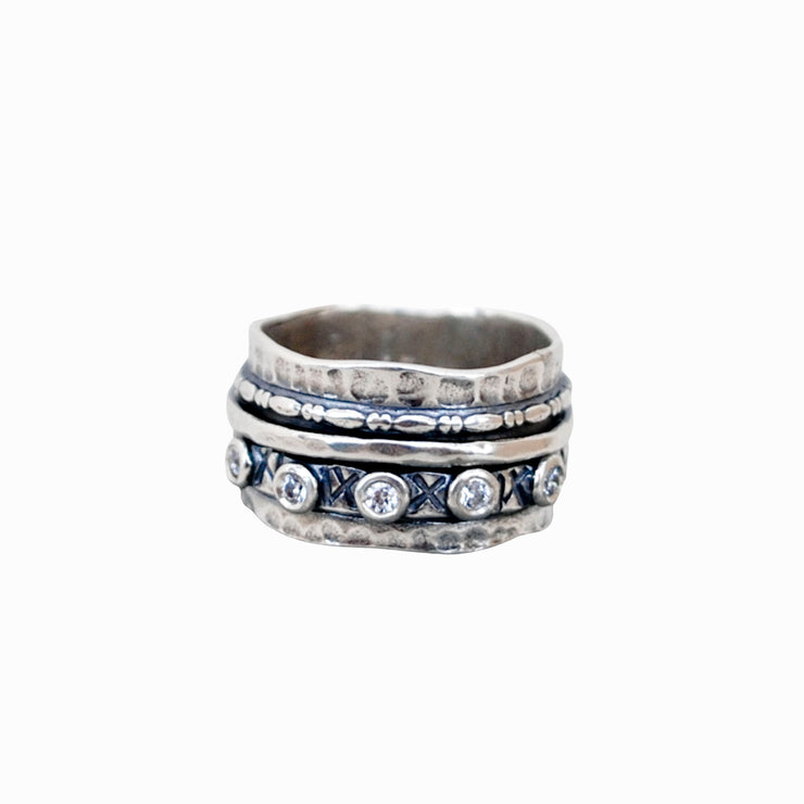 Fond Embrace Spinner Ring