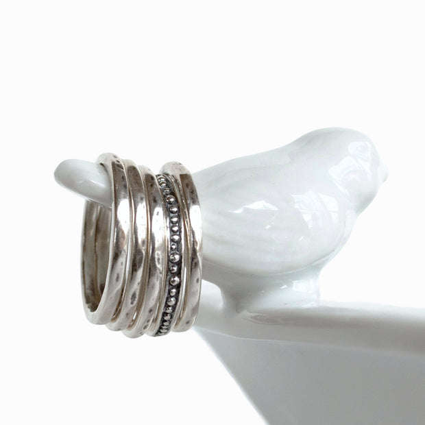 High Five Stackable RIng
