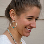 Turquoise Satellite Earrings