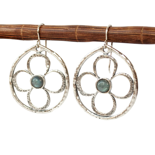 Bloom in Blue Earrings