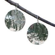Silver Moon Earrings