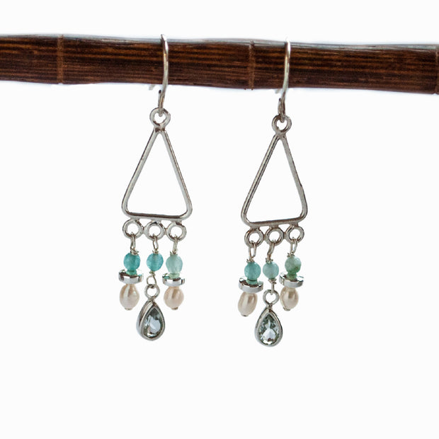 Aqua Drops Earrings