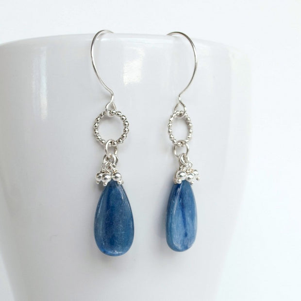 Faded Jeans Earrings