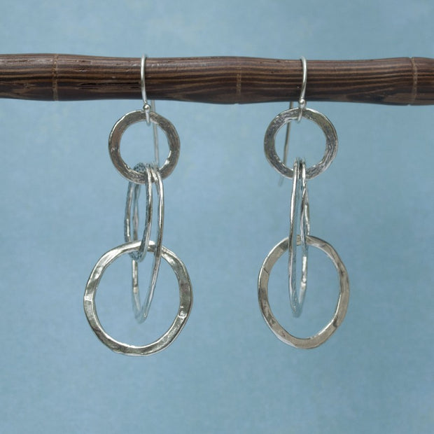 Mobile Hoop Earrings