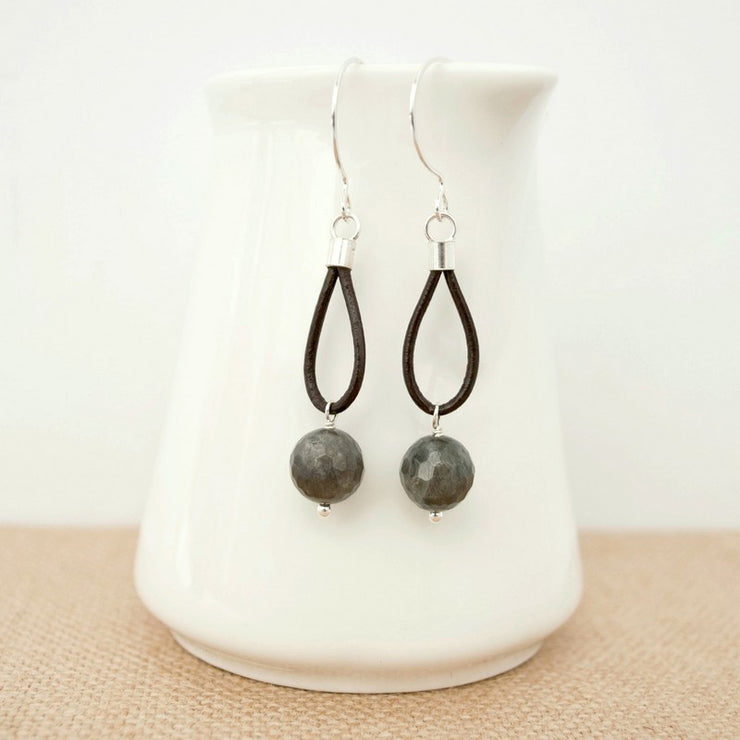 Streamside Laboradite Earrings