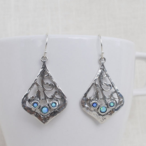 Opal Accents Earrings