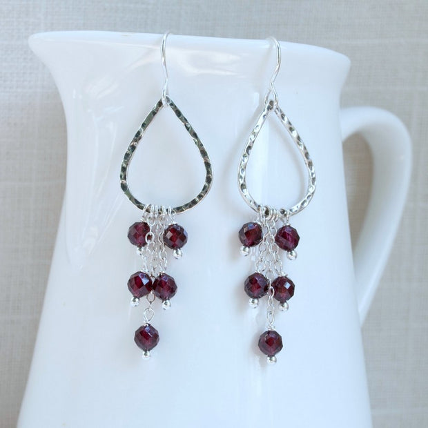 Grazioso Garnet Earrings