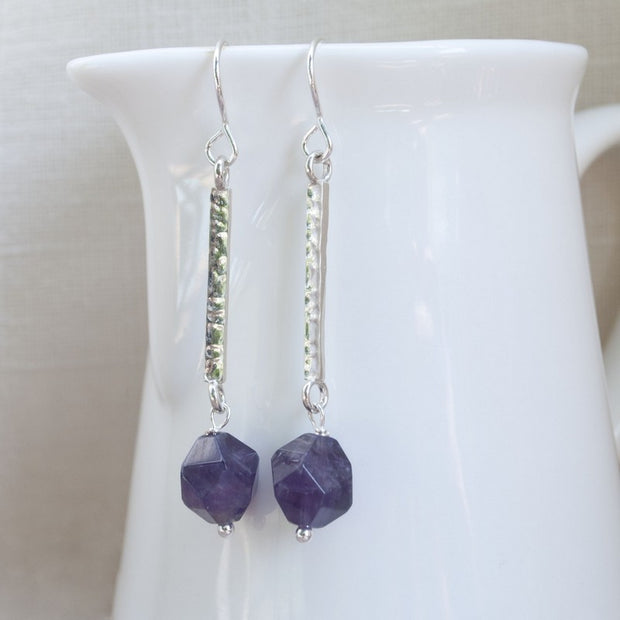 Royal Amethyst Earrings