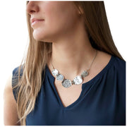 Waves of Silver Necklace