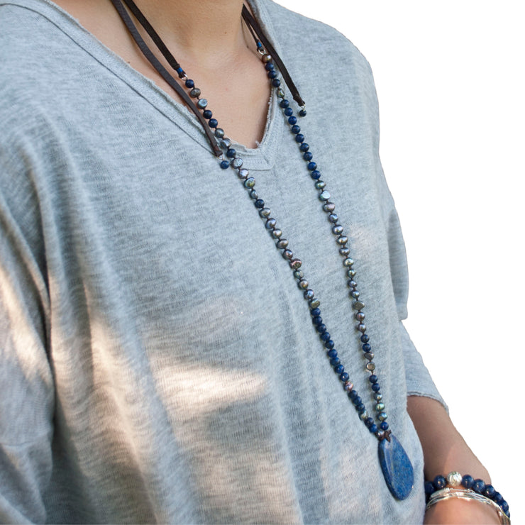 Blue Jeans Revival Necklace