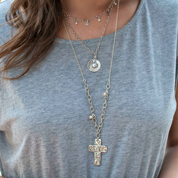 Everlasting Faith Cross Necklace