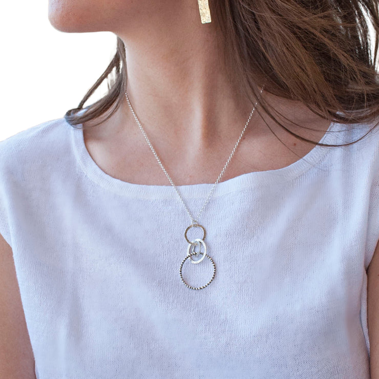 Playful Loop Necklace